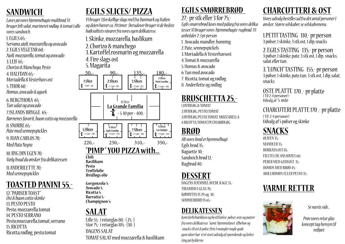 menu egils 20