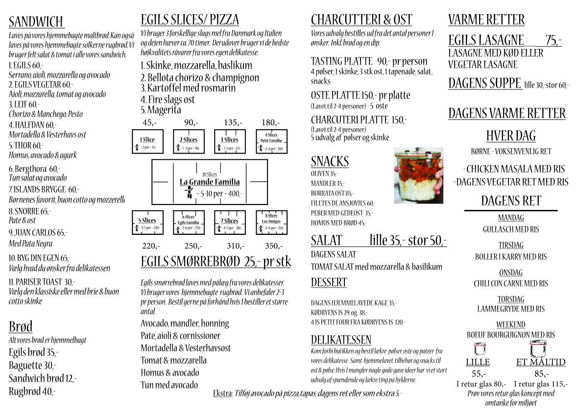 menu egils 2019