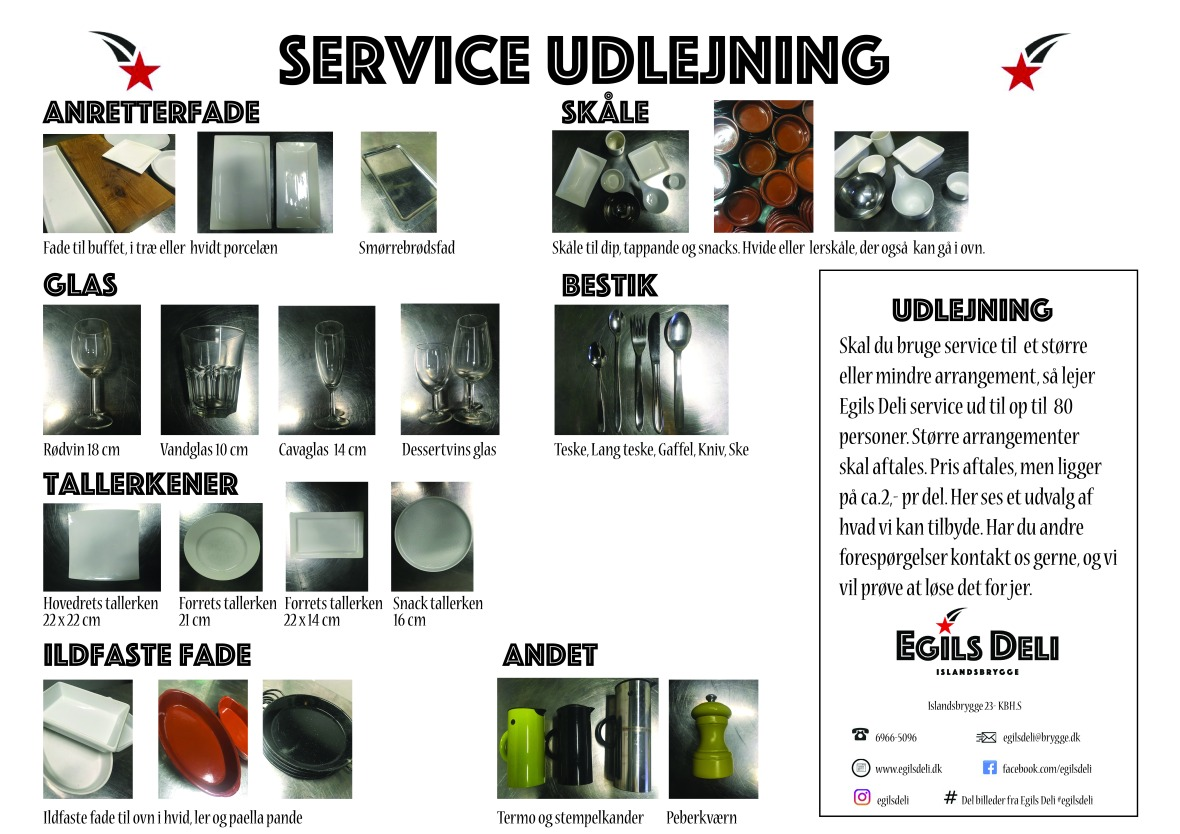 Service udlejning
